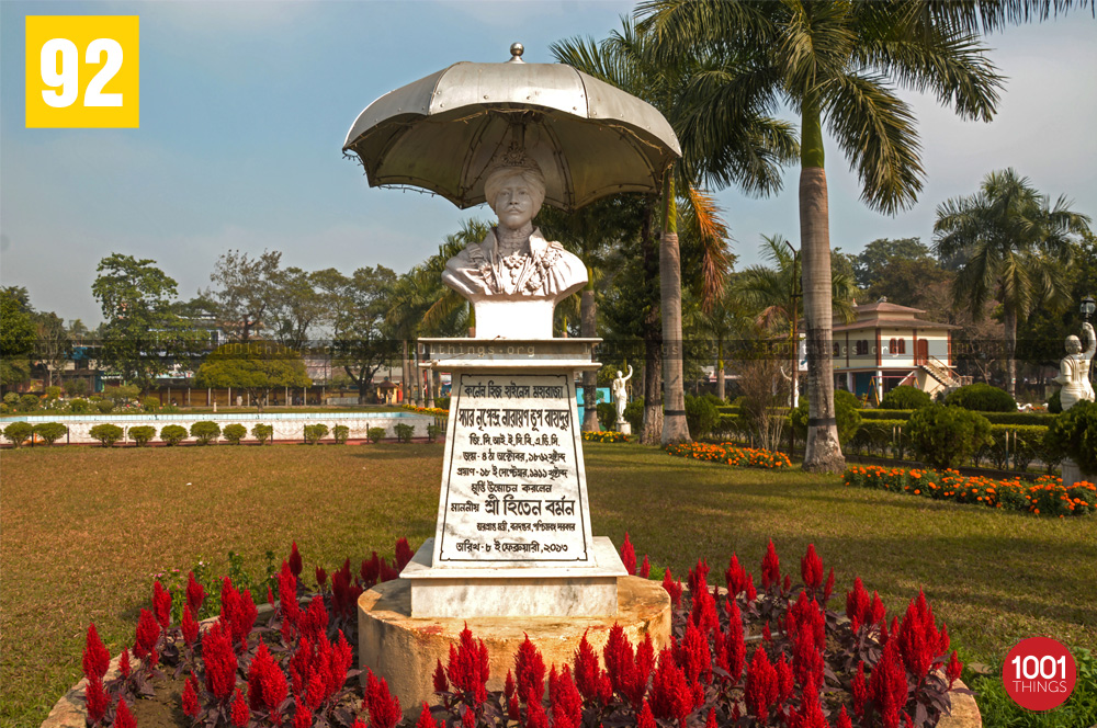 Idol at The Narendra Narayan Park, Coochbehar