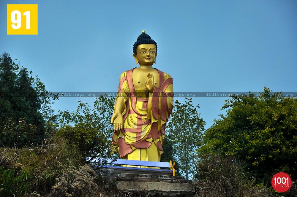 Lord Buddha Great Stupa Ugyen Mindrolling Samten, Lava, Kalimpong