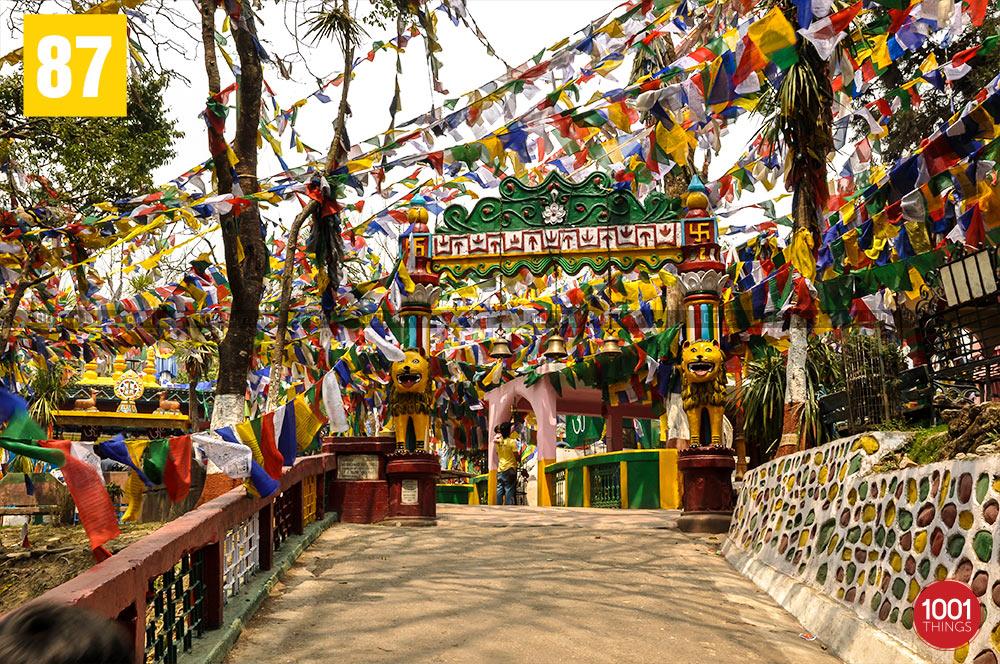 Mahakal Mandir Gate, Darjeeling