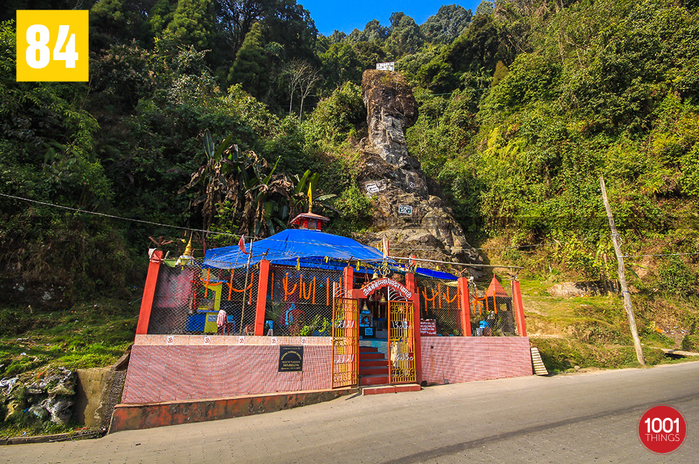 Shiv Mandir at Tenzing and Gombu Rocks, Darjeeling