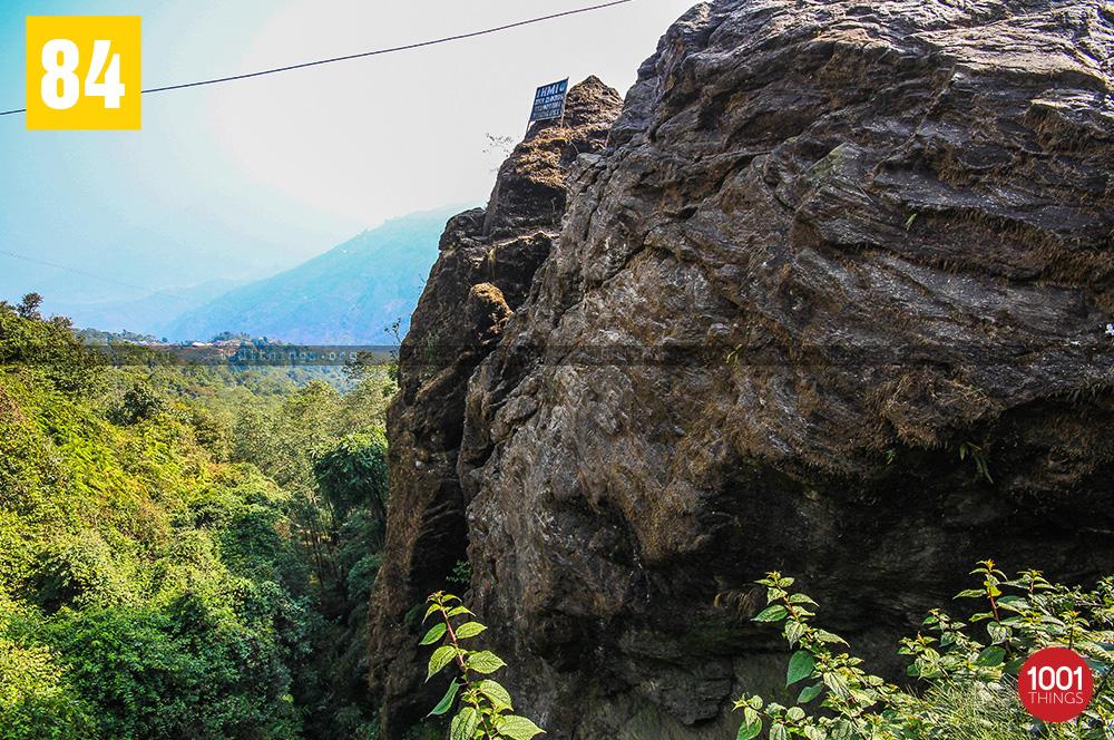 Top view of Tenzing and Gombu Rocks, Darjeeling