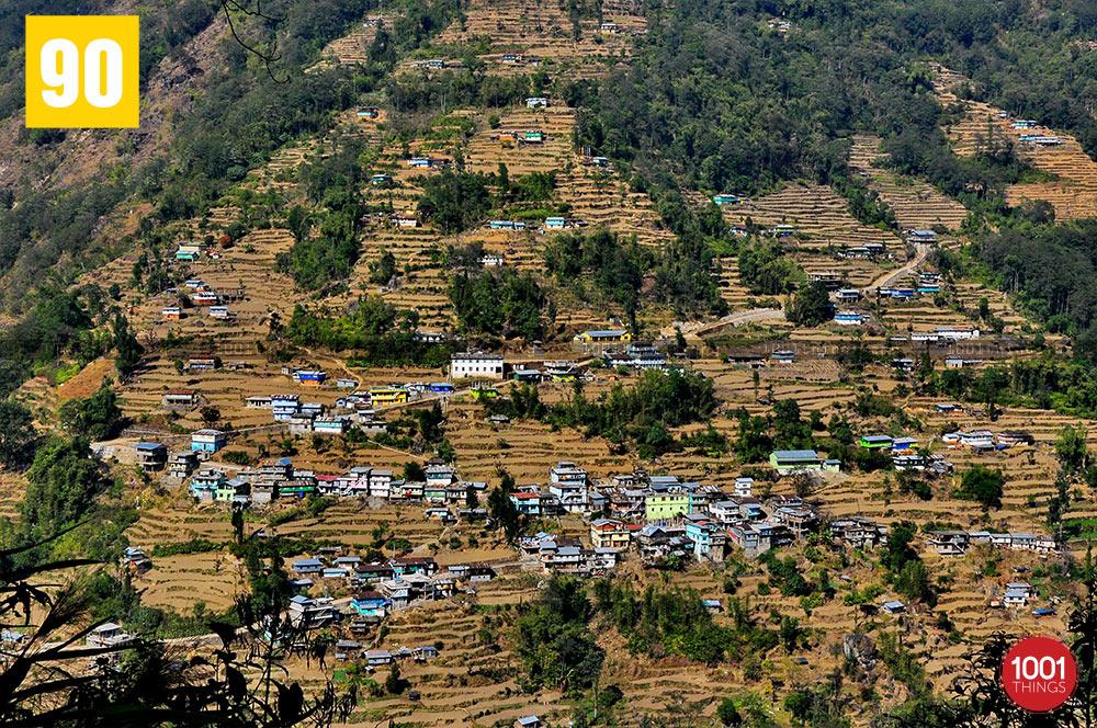 View from Dhotrey, Darjeeling