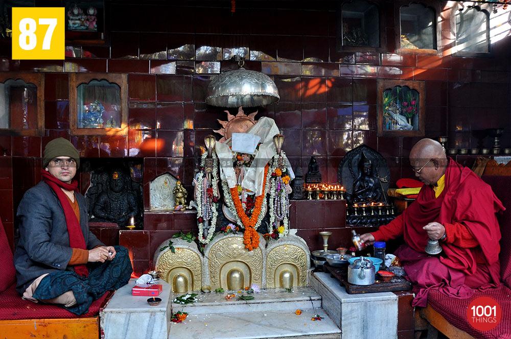 Worshipping Mahakal Baba