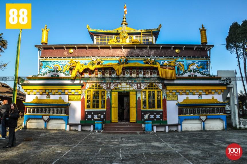 Yiga Choeling Monastery, Ghoom, Darjeeling