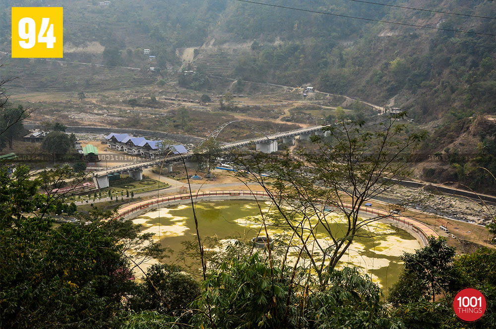 Aerial view of Jamuni, Darjeeling