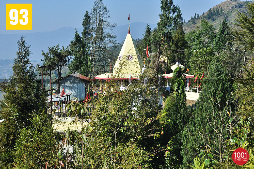Mata Mandir near Hanuman Tok, Kalimpong