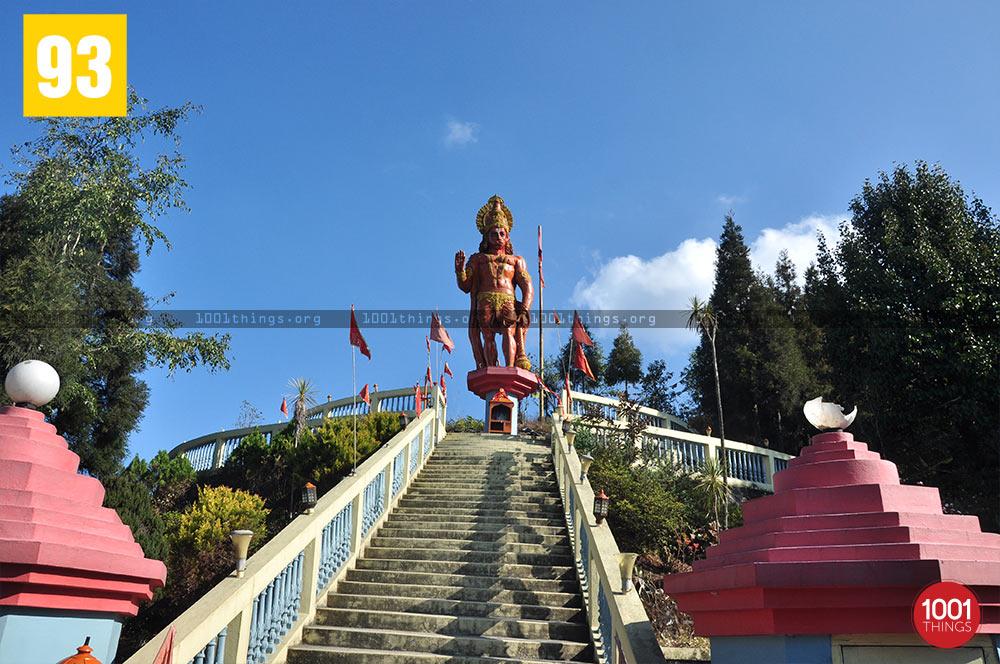 Stairs at Hanuman Tok, Kalimpong