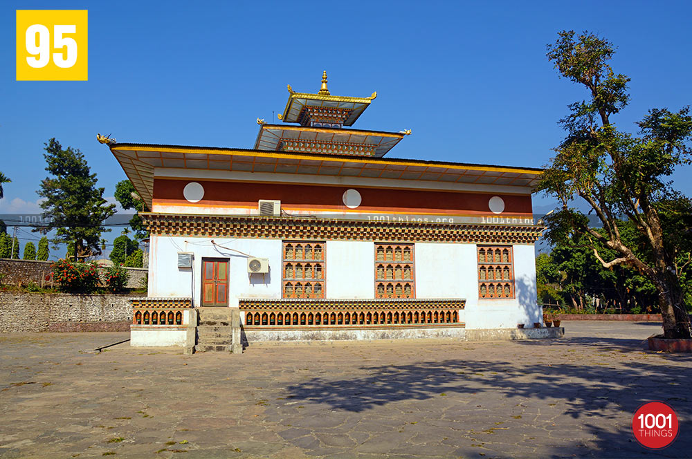Buddhist Monastary at Samtse
