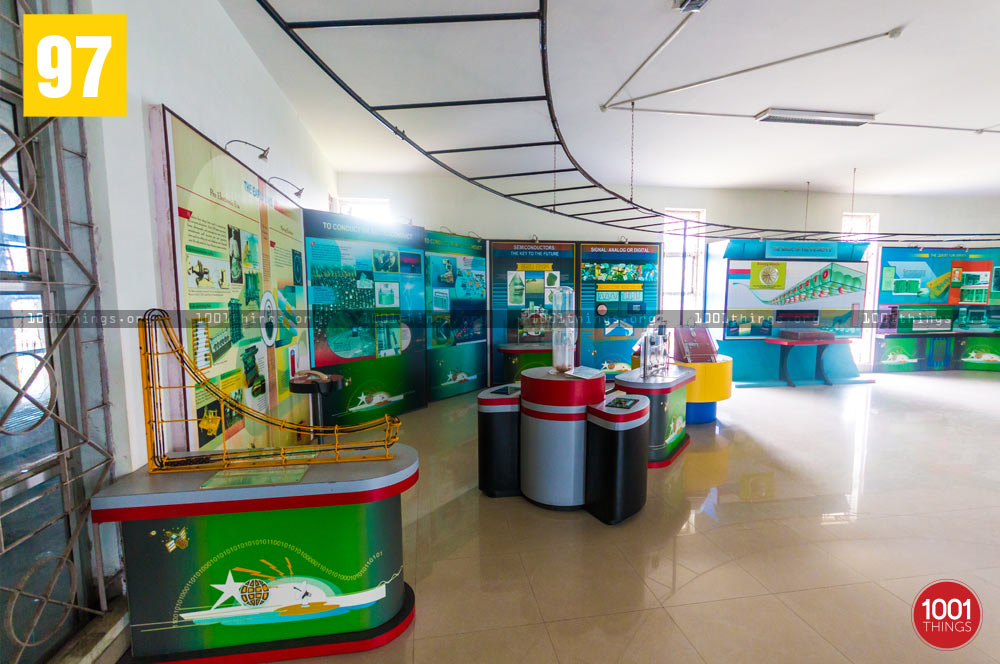 Games area at Science Center, Kalimpong