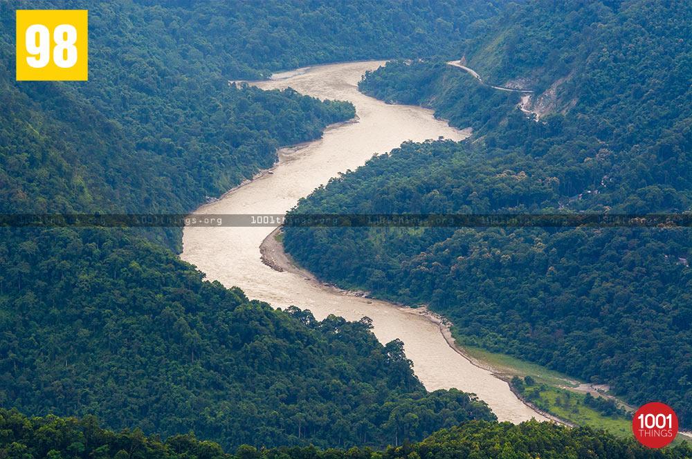 River Teesta Image