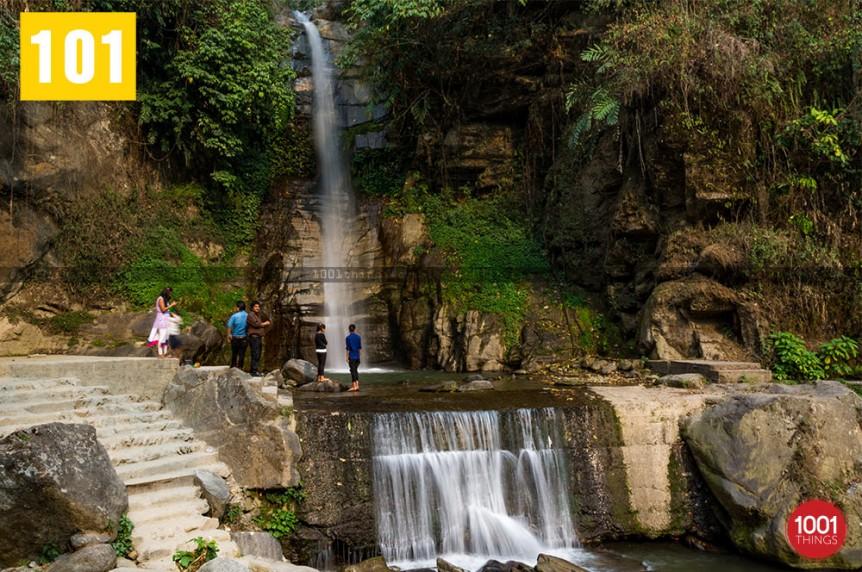 Banjhakri Fall Gangtok Image