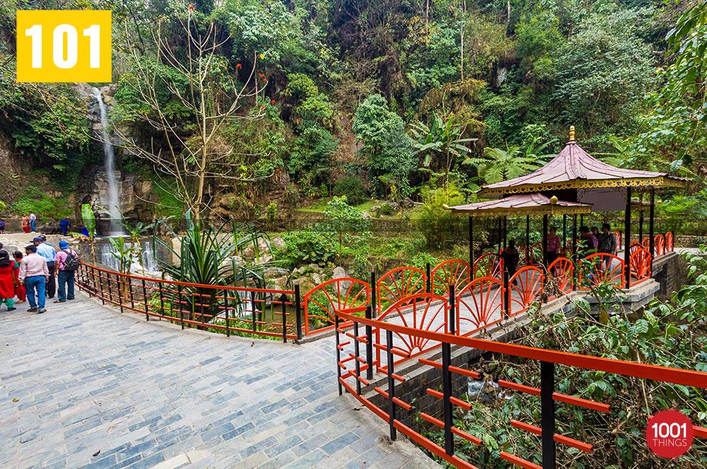 Garden at Banjhakri Fall Gangtok