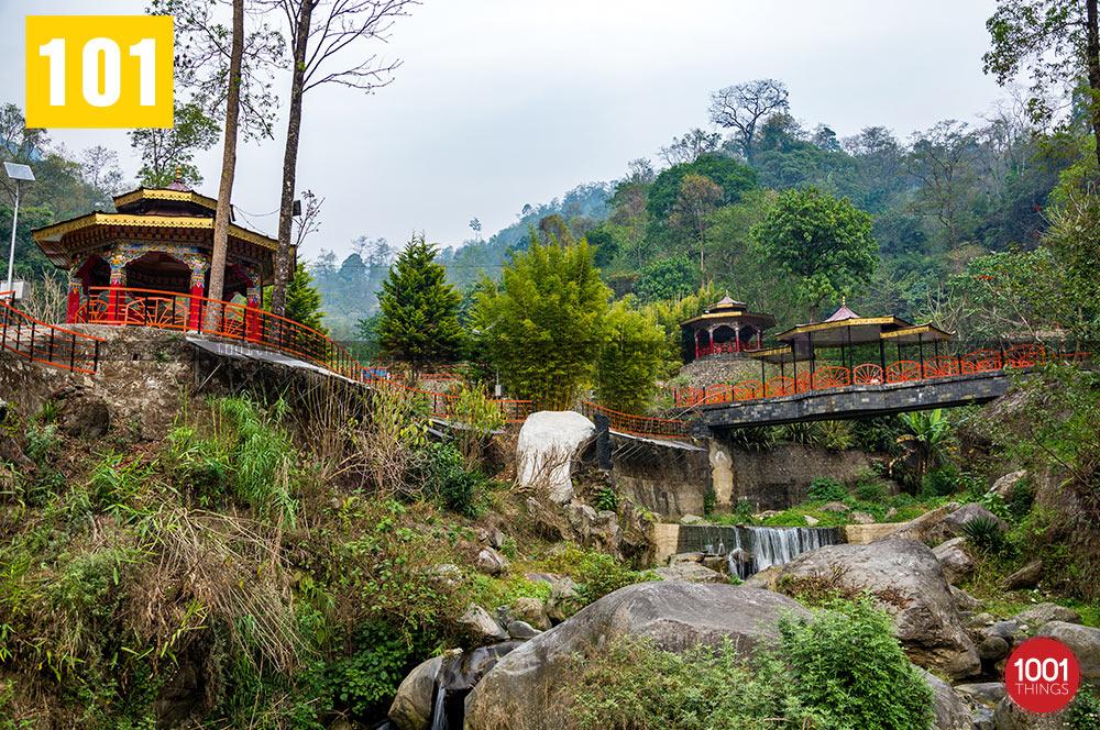 Landscape at Banjhakri Fall Gangtok