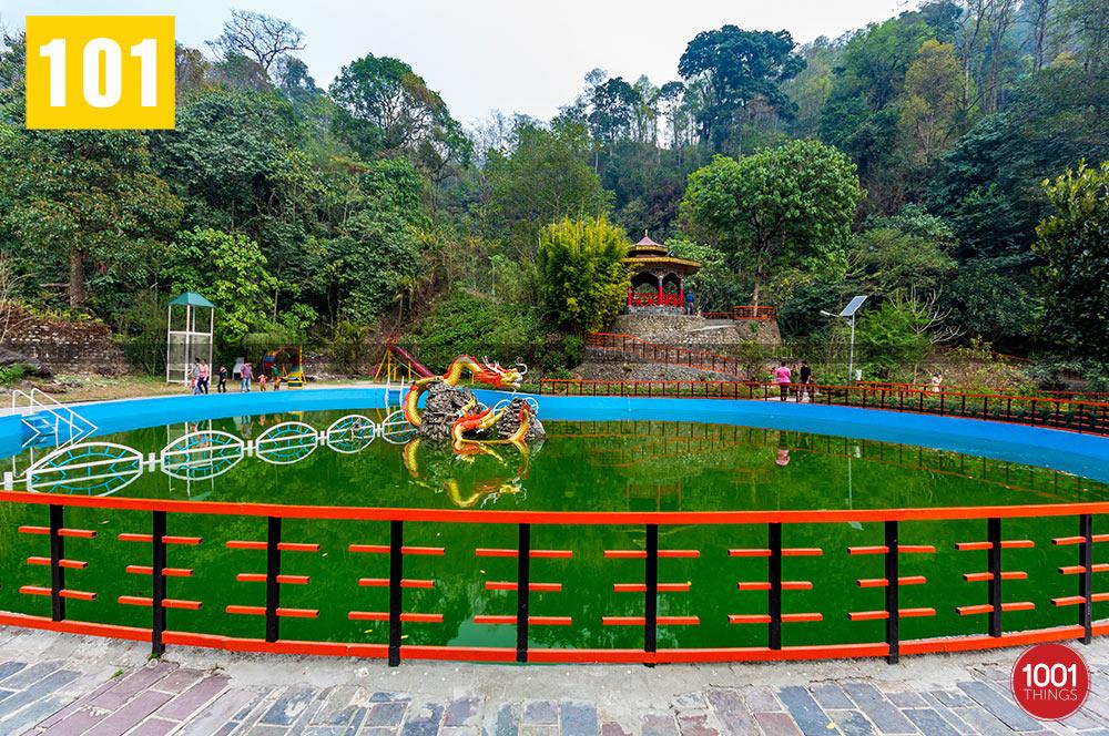 Pond at Banjhakri Fall Gangtok