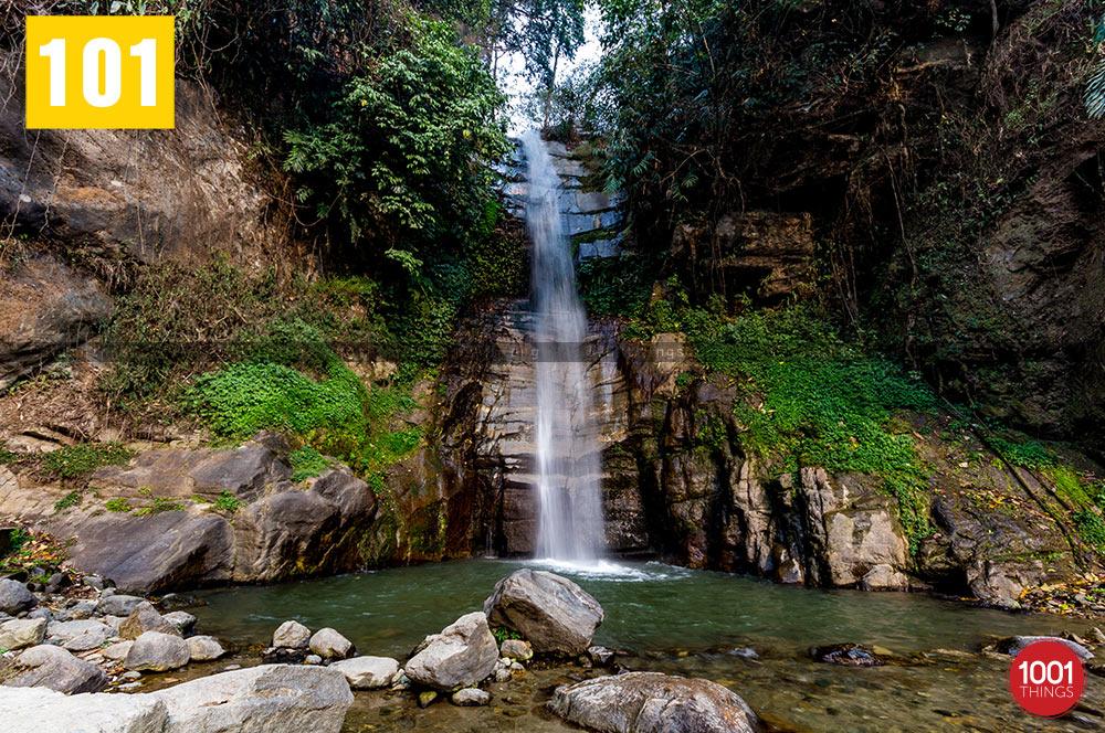 Waterfall at Banjhakri Fall Gangtok