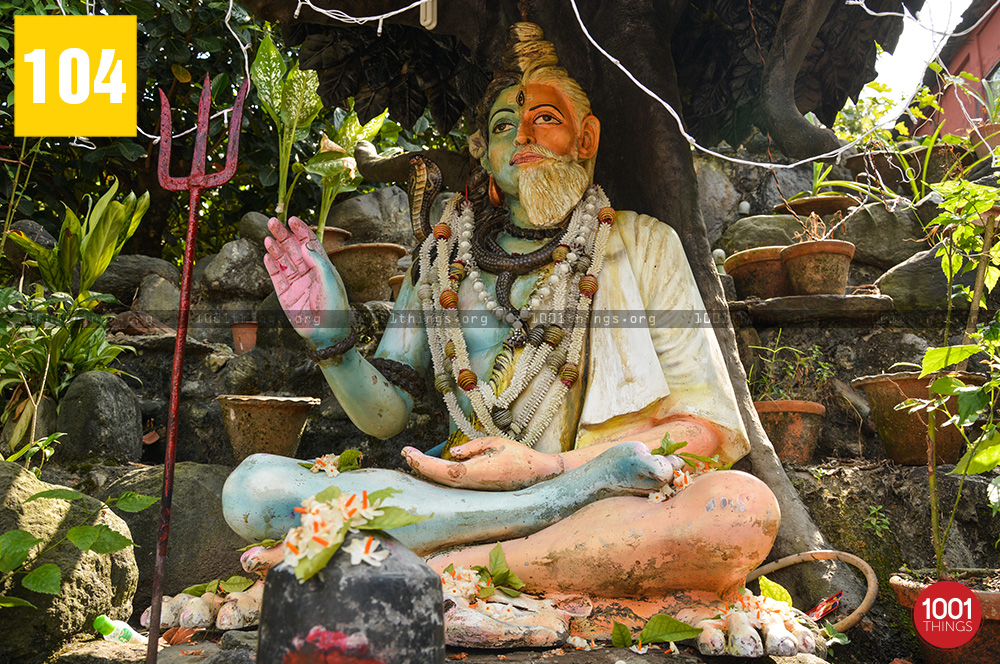 Baba Lokenath Idol at Siliguri