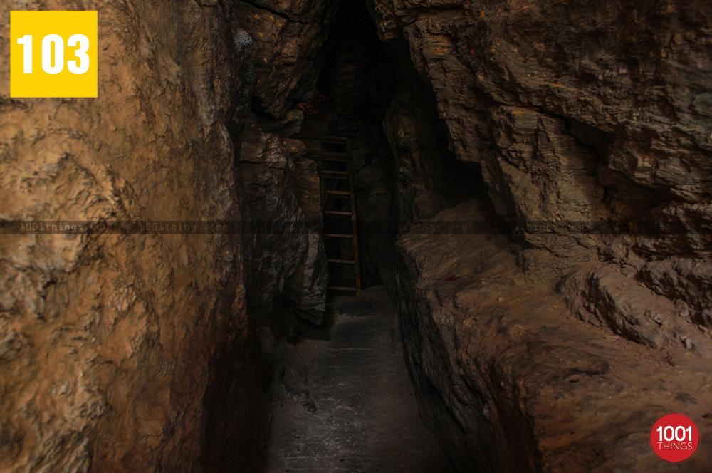 Cave at 3rd Mile Mandir, Kalimpong