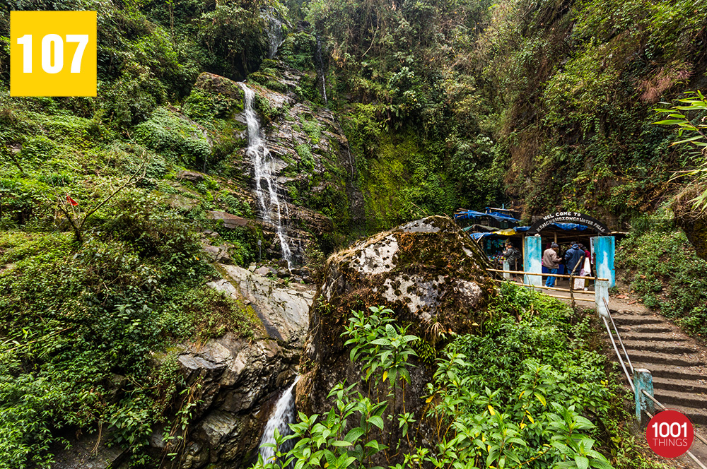 Entrance to Kanchenjunga Water Fall, Sikkim