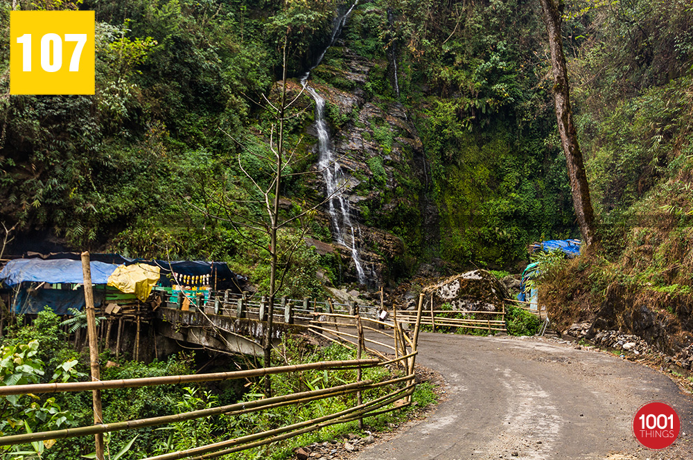 Way at Kanchenjunga Water Fall, Sikkim