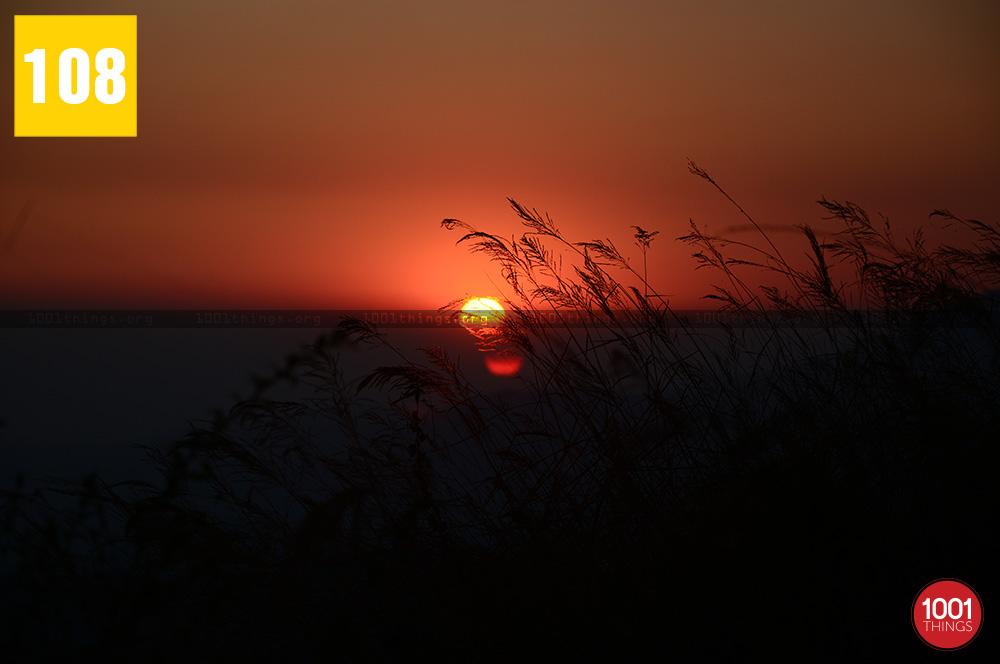 Sunset at Rock Garden, Kurseong