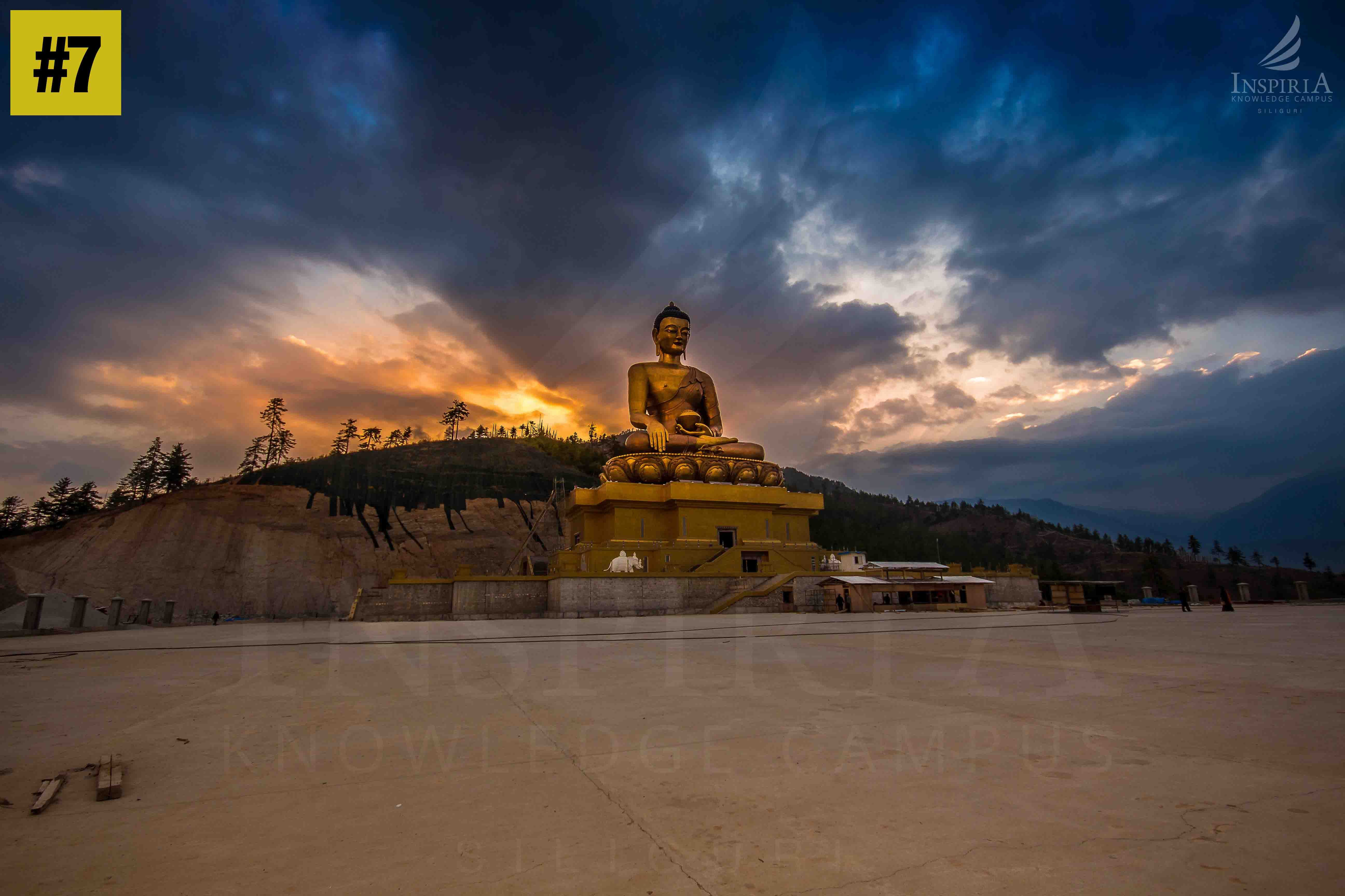 Buddha-Point-sideview-Thimpu-bhutan
