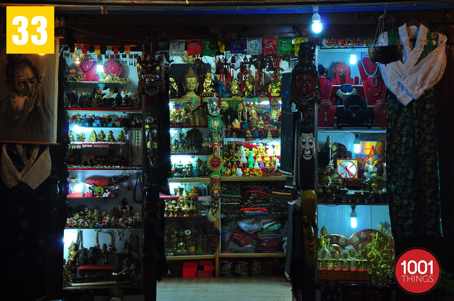 Curio-shop-Mall-Road-Darjeeling-wb