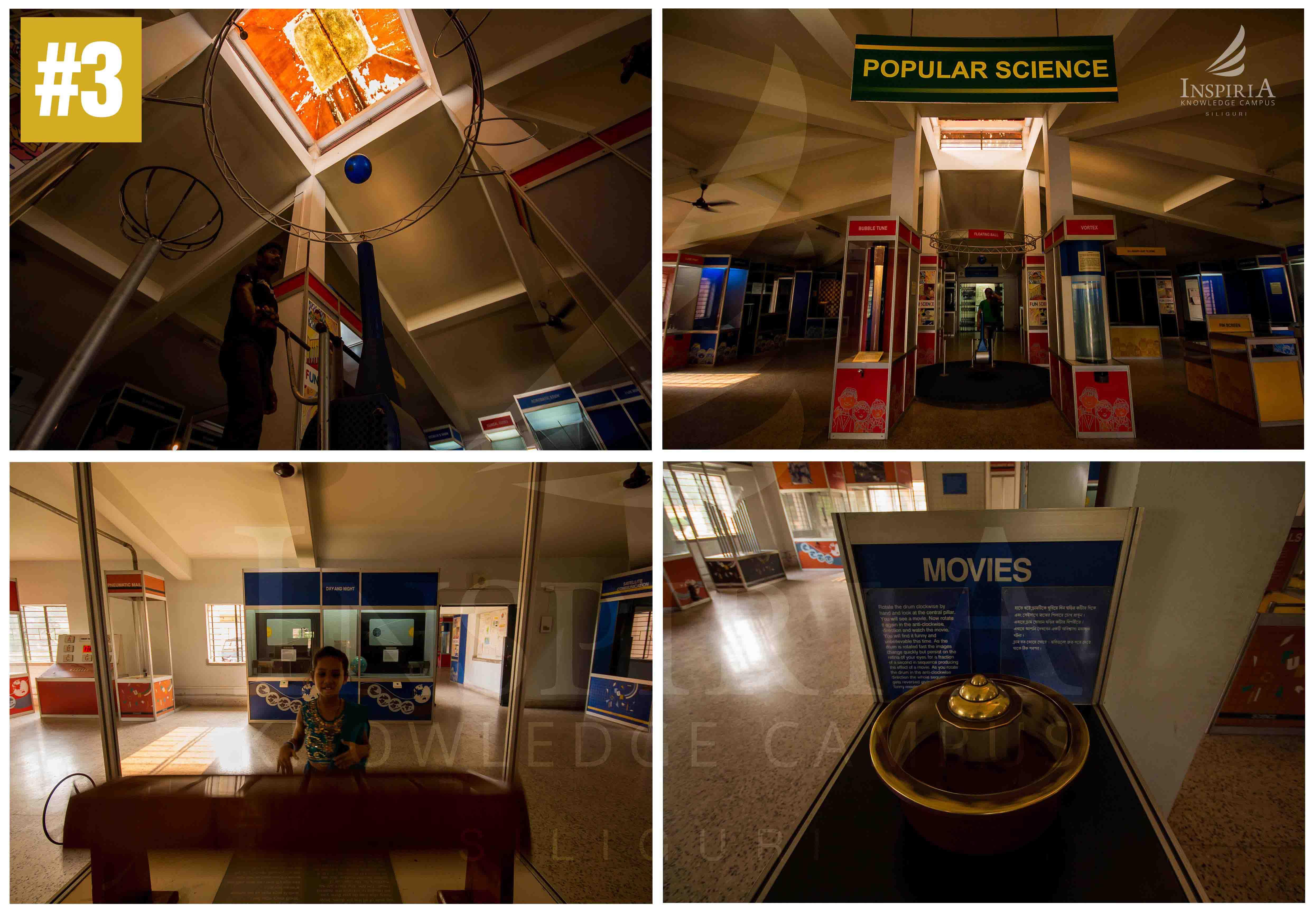 Indoor Stalls of Science Center Siliguri