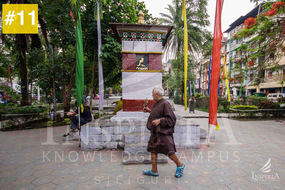 Old-monk-at-Zangtho-Perli-Lakhang-Phuentsholing-bhutan