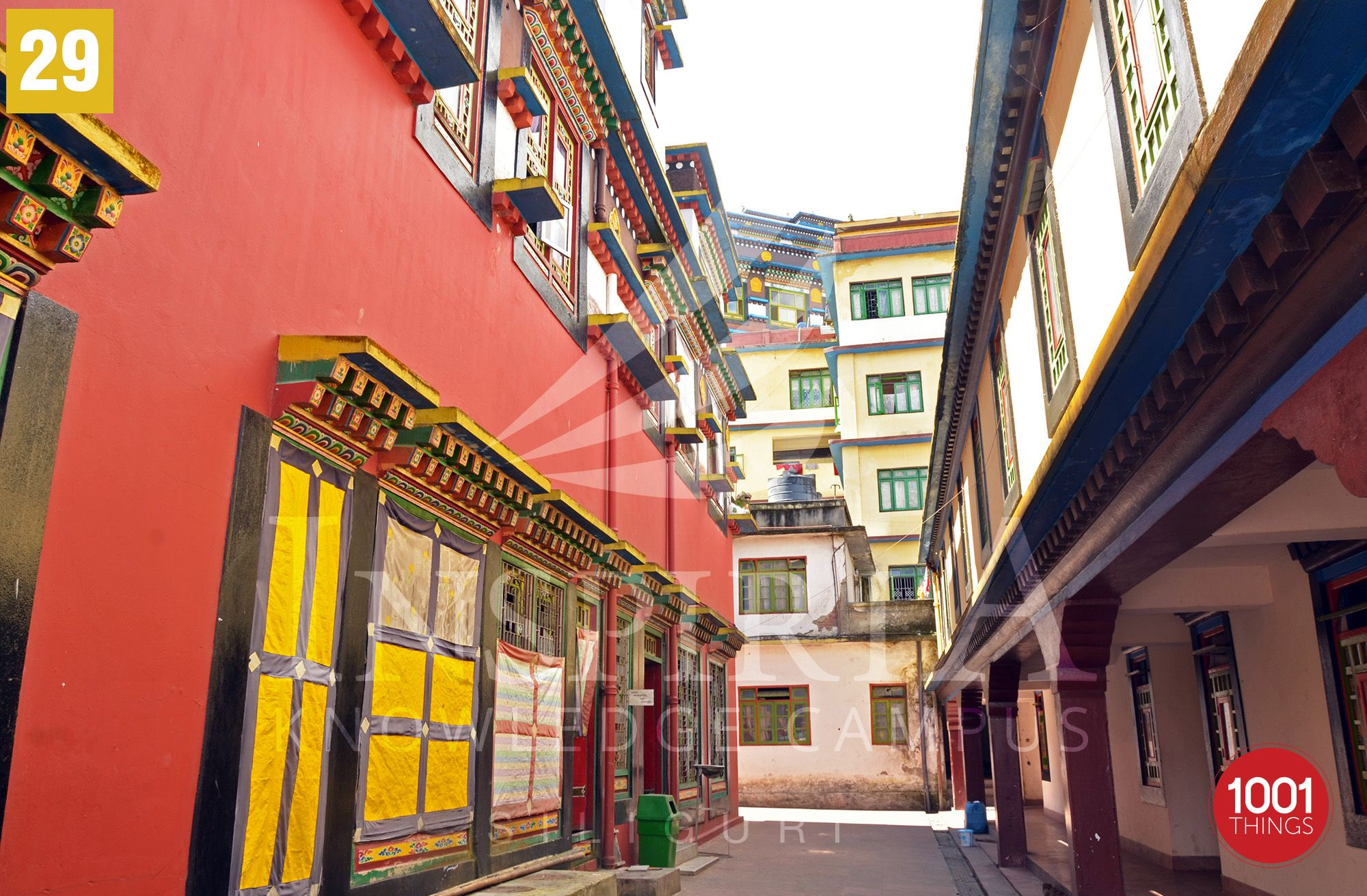 Rumtek-Monastery-sikkim-corridor-sikkim
