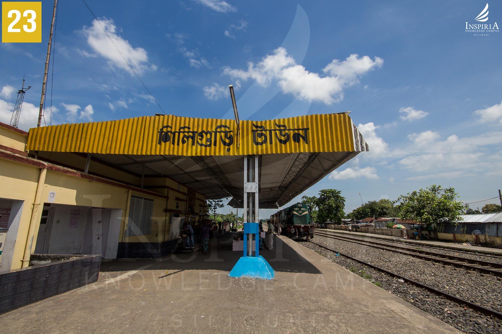 Siliguri-town-station-platform
