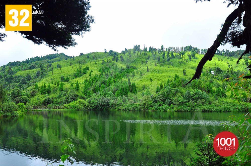 tiger hill darjeeling - Sinchel lake