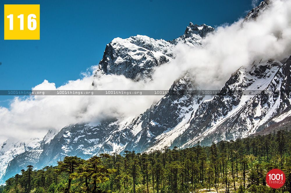 The-beautiful-peak-with-clouds