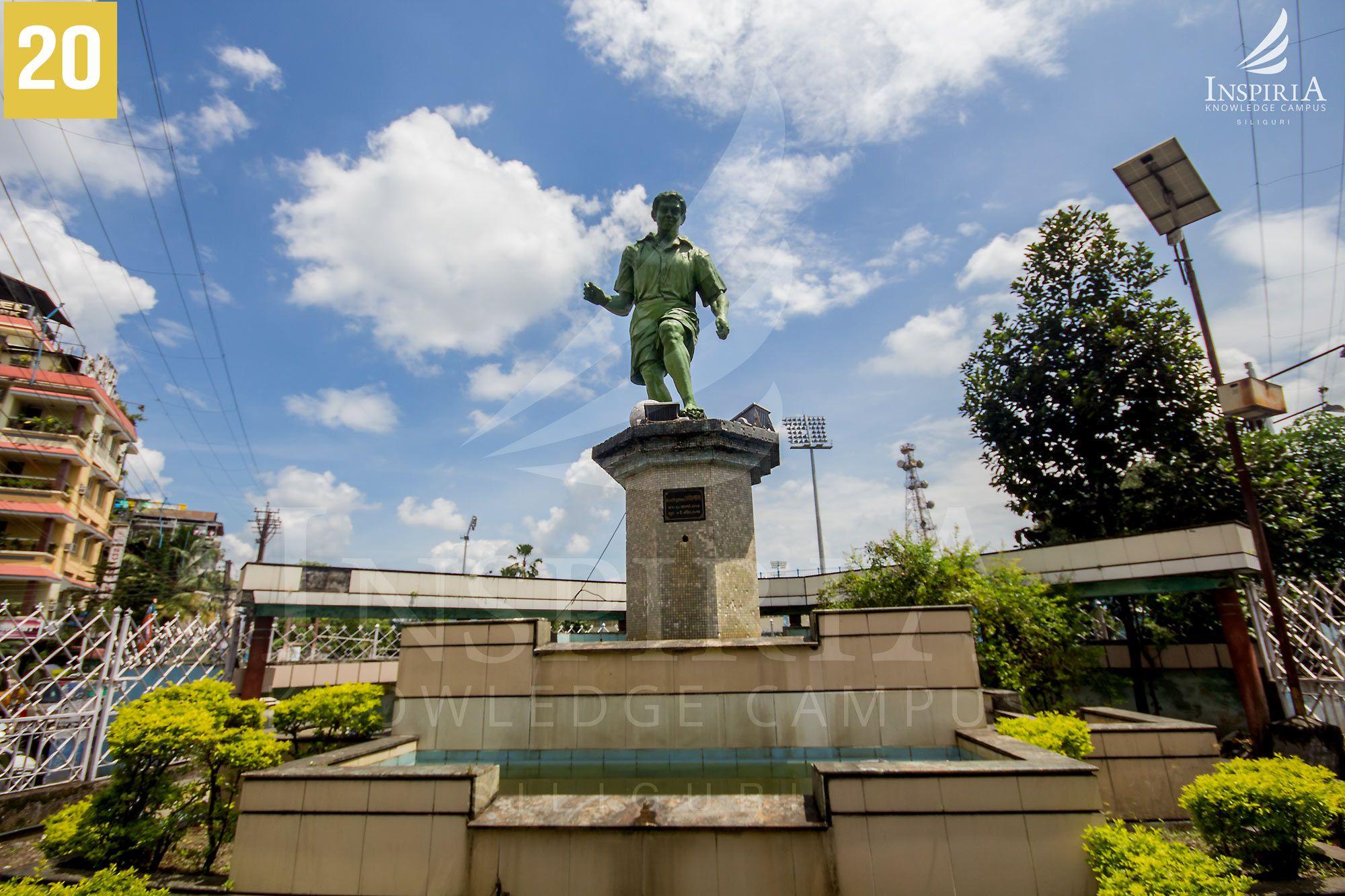 gesto-paul-statue-kanchanjanga-stadium-siliguri-wb