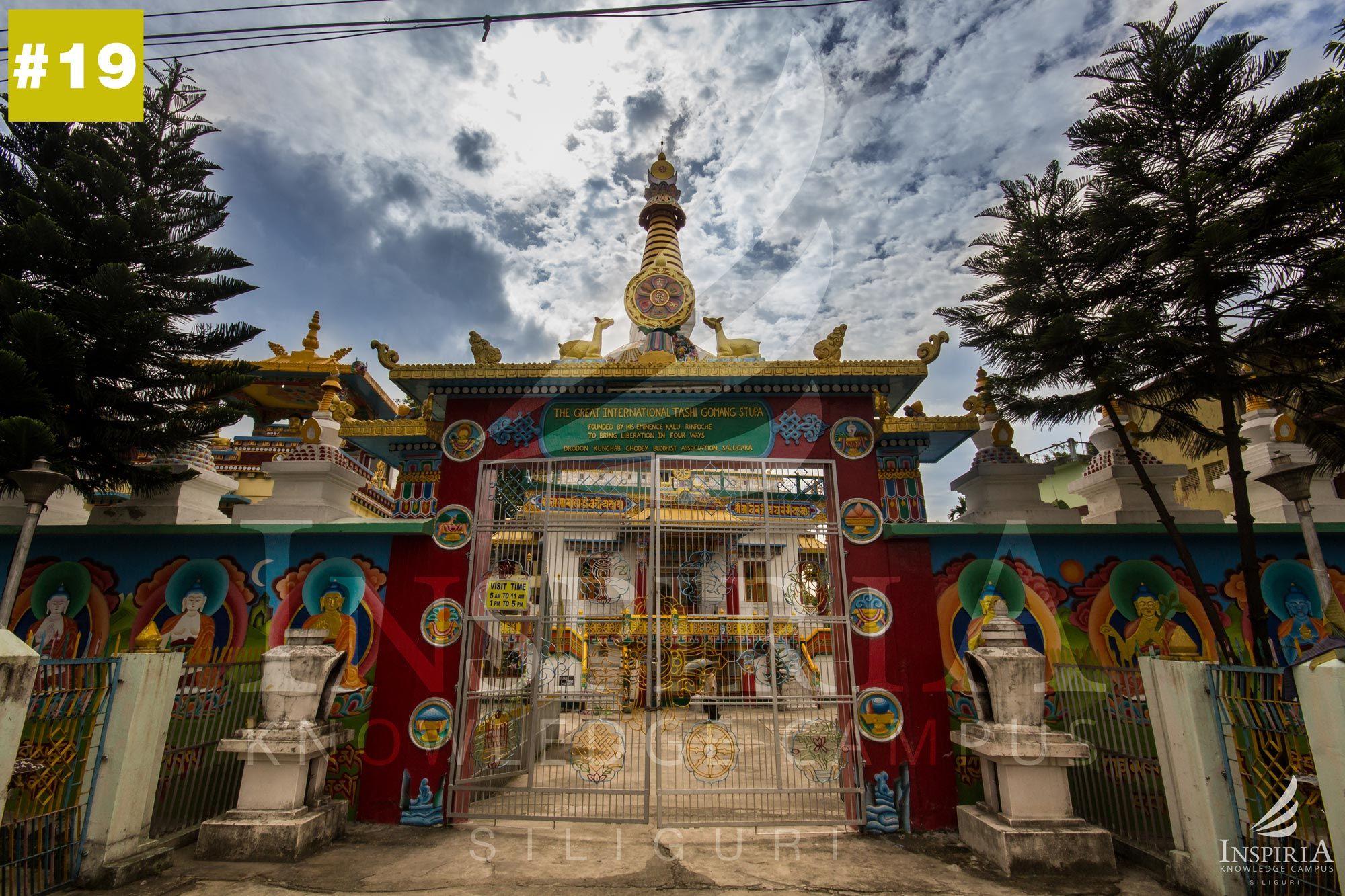 salugara-monastery-siliguri-inspiria-knowledge-campus-1001-things-to-do-front-gate-wb