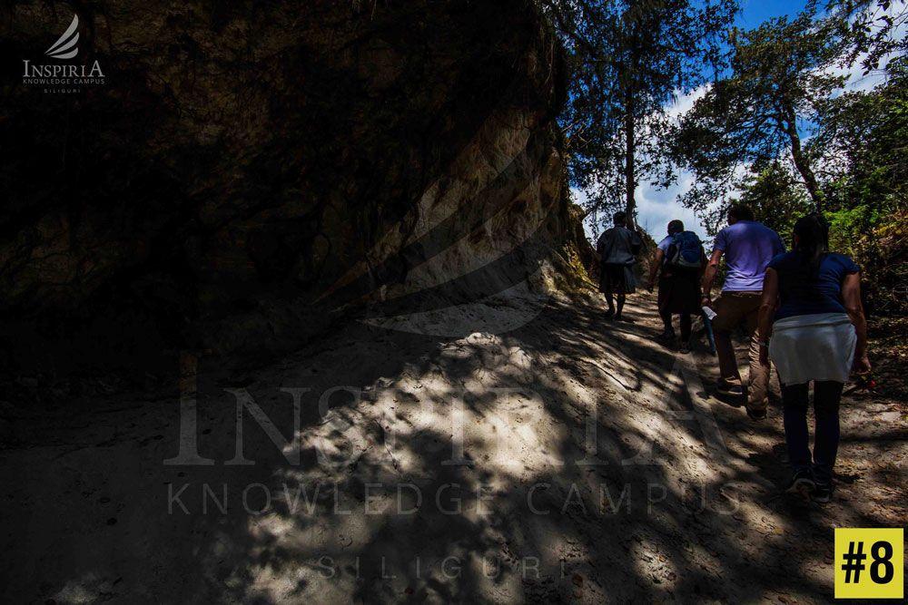 paro to paro taktsang bhutan - Light & shades during the walk to Taktsang Monestary bhutan