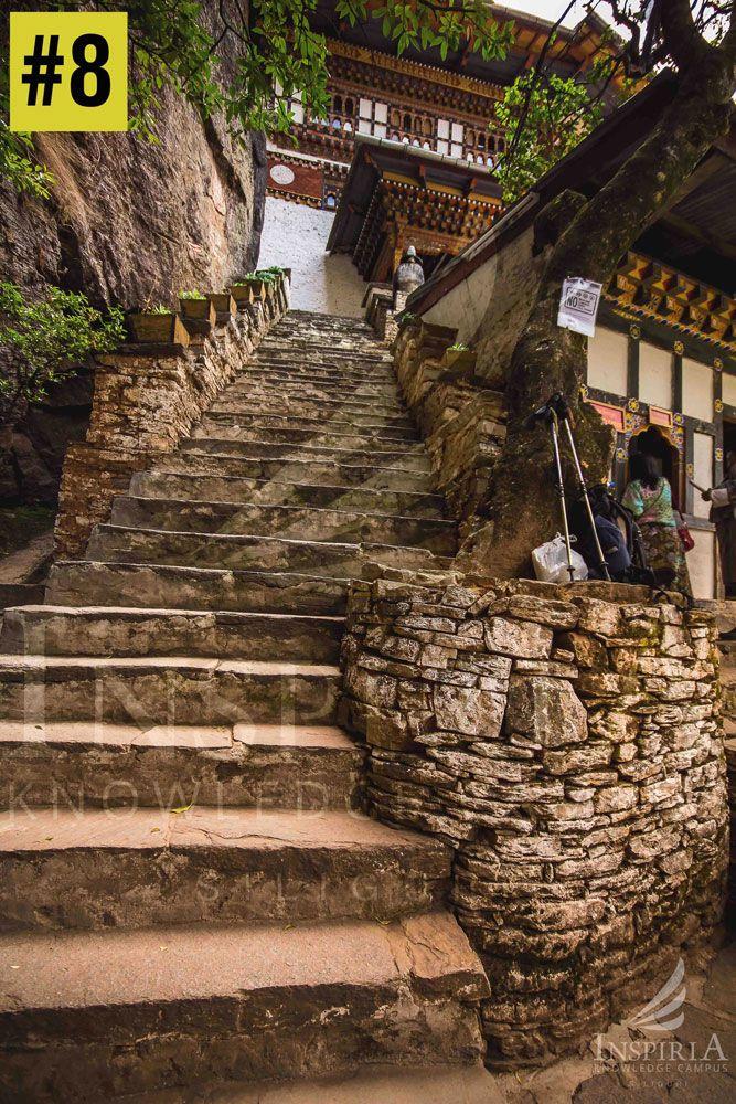 Paro Taktsang Monestary Stairs