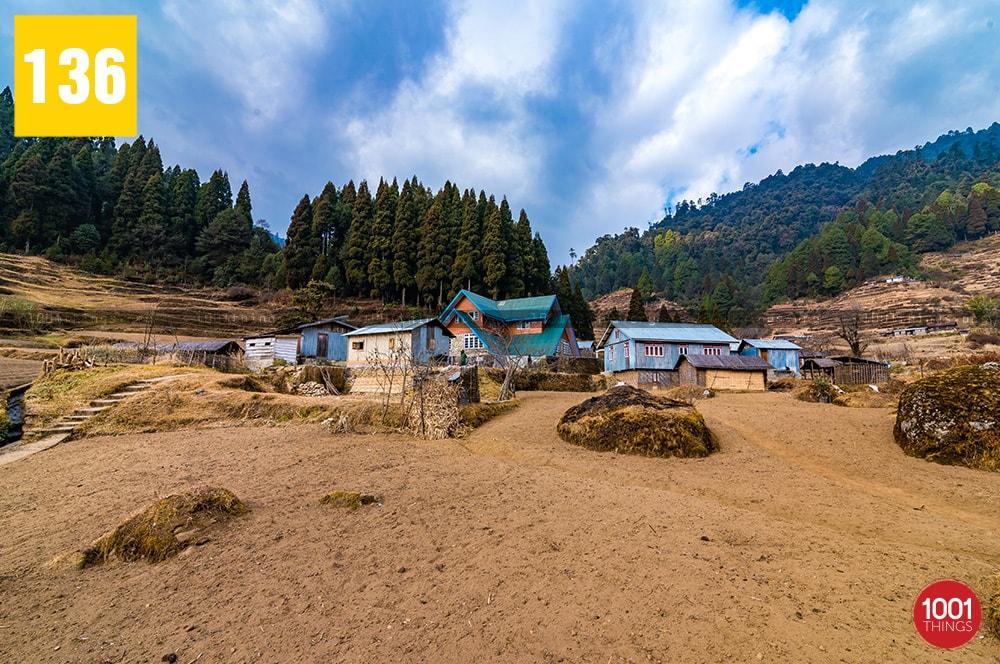 Gorkhey village farming land