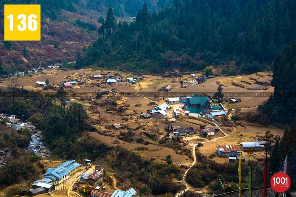 Gorkhey, village