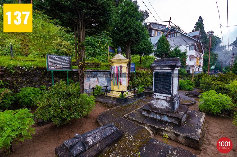Tomb of Alexander Csoma De Koros, Darjeeling