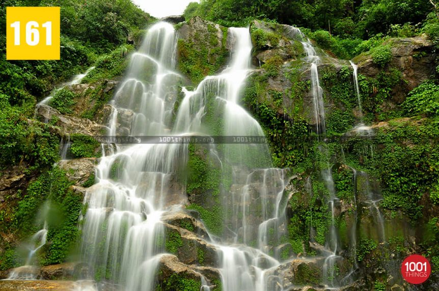 Bakthang Waterfall Gangtok