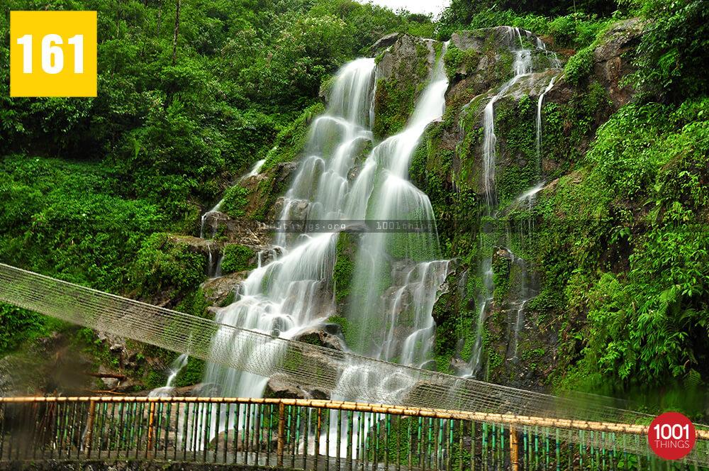 Bakthang falls, Gangtok