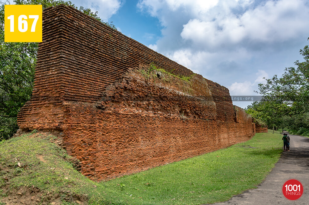 Baisgazi Wall in Malda