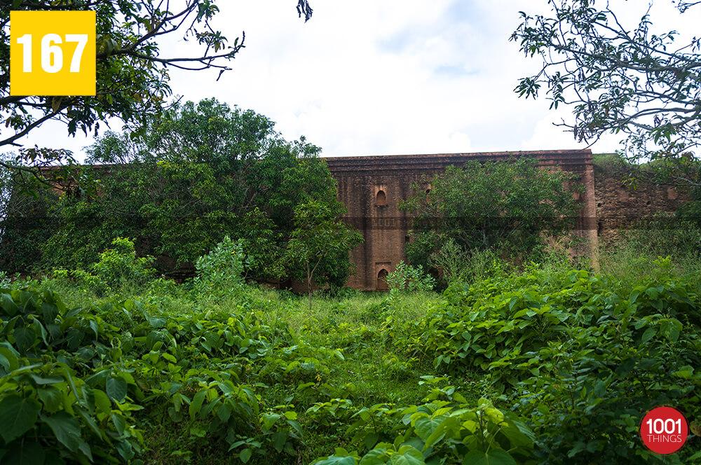 Baisgazi wall, Malda