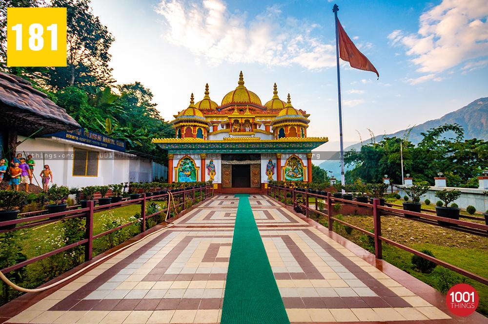 Pranami mandir sikkim