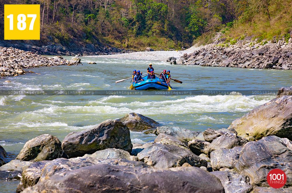 White Water Rafting at Teesta River