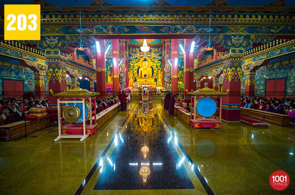 monastery is located at Toribari Village