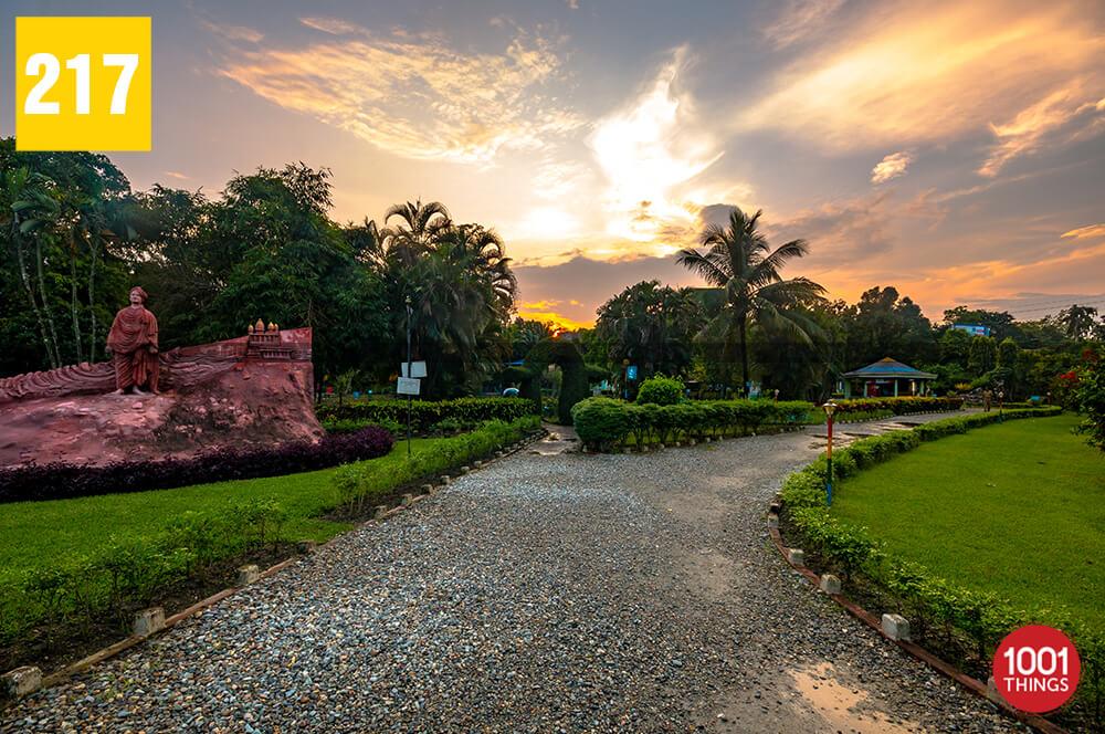 Teesta Udyan Park in Jalpaiguri