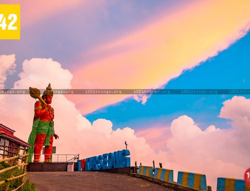 Hanuman Statue Kurseong View Point